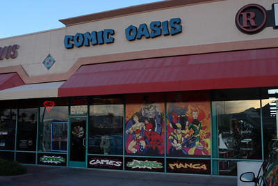 Comic Oasis in Las Vegas