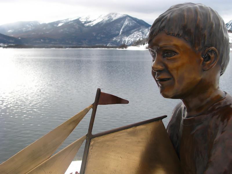 Statue Lake Dillon jpg