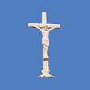 """Crucifix, 12'1""""H  #8081"""