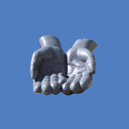 """Hands, 18""""   #7255"""