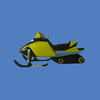 """Snowmobile, 12'6""""L  #6097"""