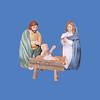 Joseph #8035<br /> Mary #8034<br /> Baby Jesus #8033