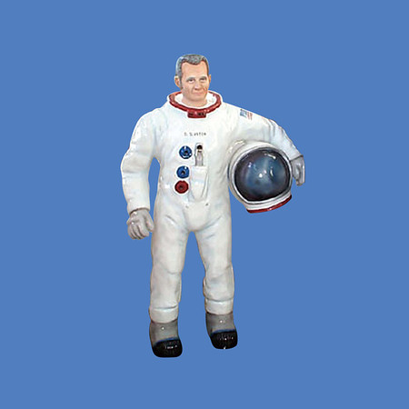 Astronaut Statue, life size #8084