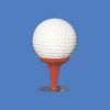 Golf Ball. 3'H  #6040