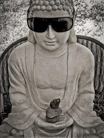 Chillin Buddha
