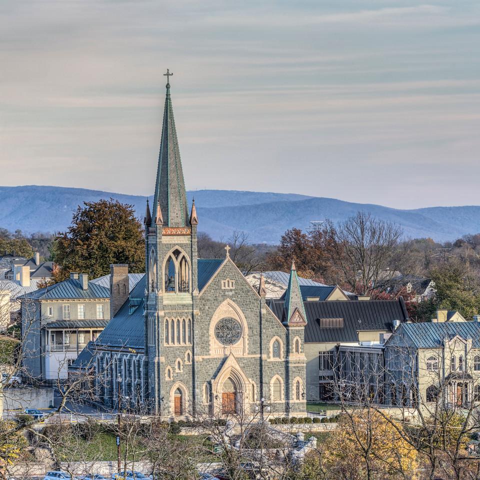 St. Francis Catholic Church: 8x8 ($20) 16 x 16 ($70) 24 x 24 ($125) + Shipping & Tax