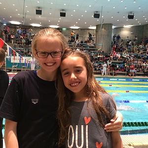 Våre kommende svømmestjerner!!