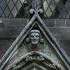The bishops entrance, Stavanger Cathedral 1020. Soapstone.
