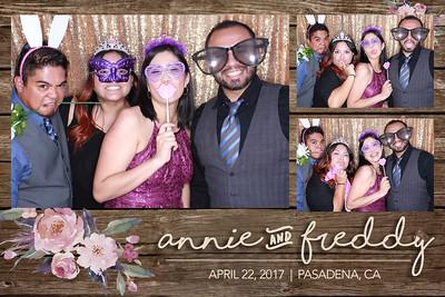 Annie and Freddy's Wedding