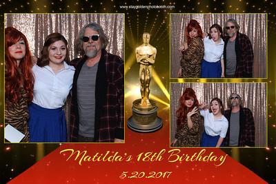Matildas's18th Birthday Party