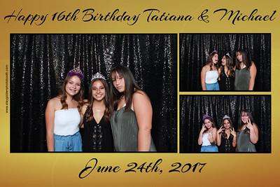 Tatiana and Michael birthday party