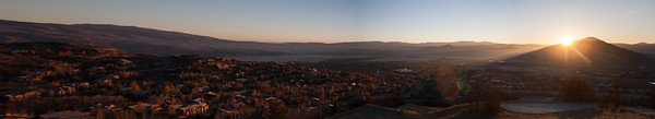 #52 Park City Sunrise panorama