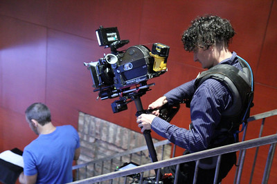 The Kiss: rehearsals (7D and 16mm, Steadicam)