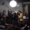 House of Smoke, Day 1, Aaton 16mm film shoot : January 8, 2010. Shooting with an Aaton XC in Chicago for the short film House of Smoke. Director: Catherine Sullivan. Cinematography: Raoul Germain. Steadicam Operation: Carl Wiedemann. Also pictured: Justin Cameron pulling focus and Curtis Davis, 2nd AC. Most of these shots by Andy Sladek.