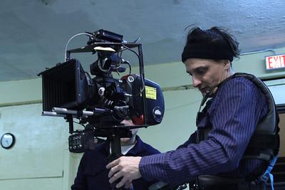 House of Smoke, Day 1, Aaton 16mm film shoot