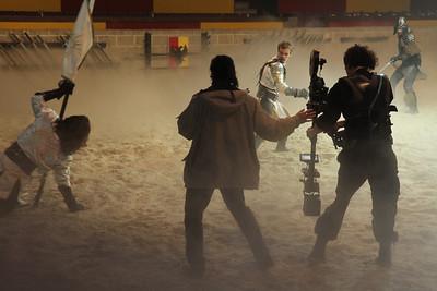Bolex on Steadicam: 16mm film shoot