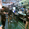 Corporate Video Shoot: Steadicam, Sony XDCAM 350 : October 29, 2010. Working with the crew from SolidLine Media at the Chicago Board Options Exchange. Greg Vass directing. October 29, 2010. Cell phone pics.