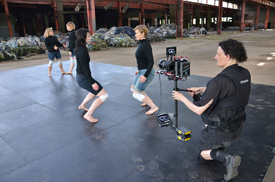 Dance Film Shoot with Steadicam Flyer LE