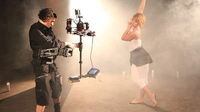 Music Video shoot with Steadicam Flyer LE