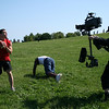 Indie Film Shoot - Steadicam in Chicago : June 1, 2008.  Short Film Shoot in Chicago with a Panasonic HPX500.  Director: Brian Patterson.  Cinematographer: Gabe Patay.  Steadicam Operator: Carl Wiedemann.  Most of these photos were shot by Wonjung Bae.