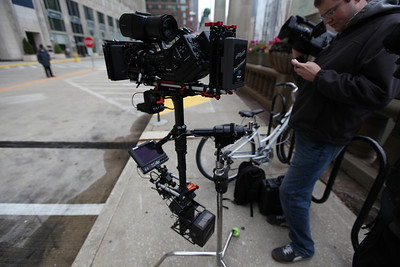 Music Video shoot in Chicago