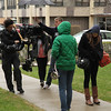 Short Film Shoot: Panasonic Varicam on Steadicam : April 16, 2011.  Working on the short film Chase, a Studio 22 Production, for Northwestern University in Evanston.   Director of Photography: Travis LaBella.  Steadicam Operation: Carl Wiedemann.   Production stills by my assistant Nick Norton.