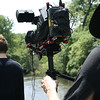 Sony EX1 on Steadicam Flyer LE for short film : July 21, 2012. Short film shoot with students from The School of the Art Institute of Chicago on very humid day.  We were filming in the Slat Creek of Bemis Woods in Western Springs, IL.  I was operating the Steadicam Flyer LE with Sony EX1 camera. Director: Anthony Ladson.