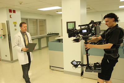 Corporate video shoot with Sony F3