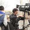 Music Video: Evanston, IL - Red Cam, Steadicam : April 24, 2011. Working on the annual Northwestern University Niteskool music video project. Shooting along the lakefront in Evanston and on the Bloomingdale rails in Chicago. Director: Andrew Van Beek.   Director of Photography: Travis LaBella. 1st AC: Jac Reyno. Steadicam Operation: Carl Wiedemann. Production stills by my assistant Jaron Tauch.