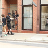 Steadicam Operation with Red Epic in Chicago : July 30, 2012.  Operating with the Red Epic on the Steadicam EFP for the short film Flat Chested. The first portion of this sequence of production stills shows the crew recording some reverse tracking shots on Armitage Avenue in Chicago. This film was produced by DePaul University with Pete Biagi on DP duties and Alex Sherman pulling focus with the Bartech Focus device.
