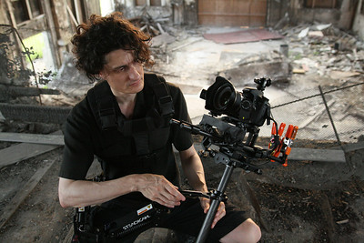 Gary, Indiana triptych shoot with Steadicam Pilot