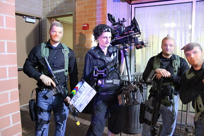 July 19, 2013. Shooting a promotional video for police training equipment in Wheaton, IL. Working with the Red Scarlet on my Steadicam EFP.
