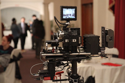 January 15, 2013. Red Epic in a minimal configuration. Shooting a short film with Second City.
