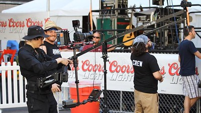 July 12, 2013. Canon 7D on Steadicam Flyer LE, shooting a promotional video for the Windy City Smokeout in Chicago, IL.