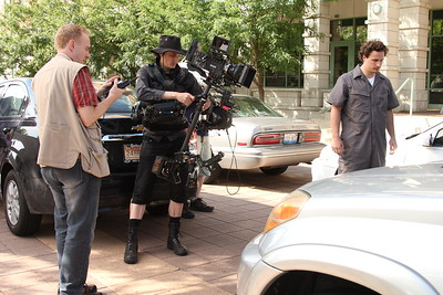 June 29, 2013. Red Epic on Steadicam EFP for a short film shoot in Willow Springs, IL.