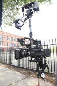 August 5, 2015. Sony F55 in low mode on Steadicam for a music video shoot in Chicago.