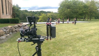 August 19, 2015. Canon 6D on Steadicam Flyer LE  for a dance video in Chicago suburbs.
