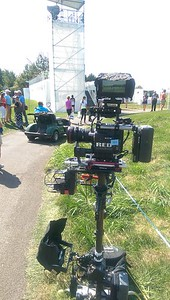September 15, 2015. Red Dragon on Steadicam for a golf documentary in Chicago suburbs.