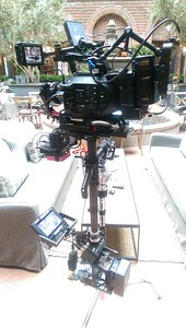 October 4, 2015. Shooting with a Sony FS7 for Restoration Hardware in Chicago.