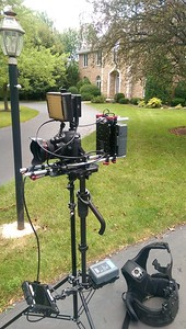 August 12, 2015. Canon 6D on Steadicam Flyer LE  for a real estate video in Long Grove, IL.