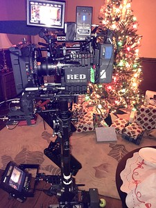 December 15, 2015. Red Dragon on Steadicam for a feature length horror film shoot in the Chicago suburbs.