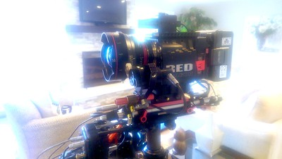 December 14, 2015. Red Dragon on Steadicam for a Dream House Raffle commercial in St. Louis, MO.