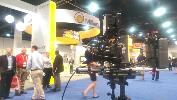 October 12, 2015. Canon 6D on Steadicam Flyer LE. Trade show coverage in Las Vegas, NV.