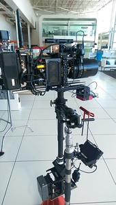 November 9, 2016. Arri Alexa Mini on Steadicam for a software promo' shoot in Grand Rapids, MI.