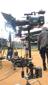 April 22, 2016. Alexa Mini on Steadicam for a music video shoot at Wrigley Field in Chicago.