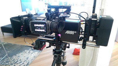 November 10, 2016. Arri Alexa Mini on Steadicam for a software promo' shoot in Grand Rapids, MI.