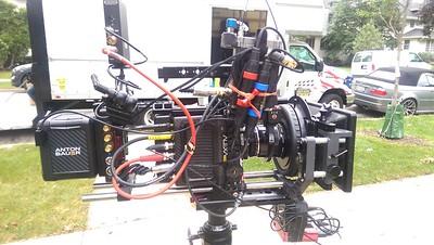 September 23, 2016. Arri Alexa Mini on Steadicam for a commercial shoot in Oak Park, IL.