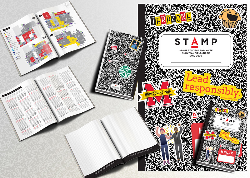 First Place: STAMP Student Employee Handbook