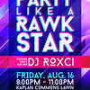 Second Place: RAWKIN' WELCOME WEEK (RWW) PARTY LIKE A RAWKSTAR