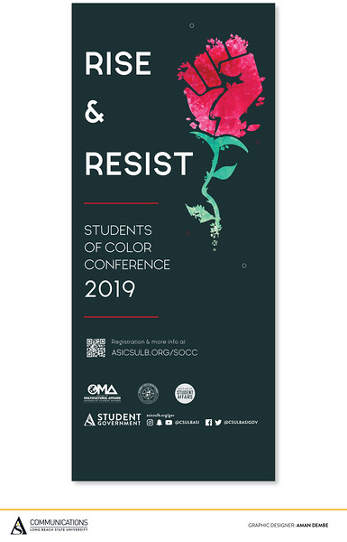 First Place: Rise and Resist: Students of Color Conference